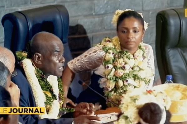 La séance d'installation du premier Conseil Départemental de Mayotte