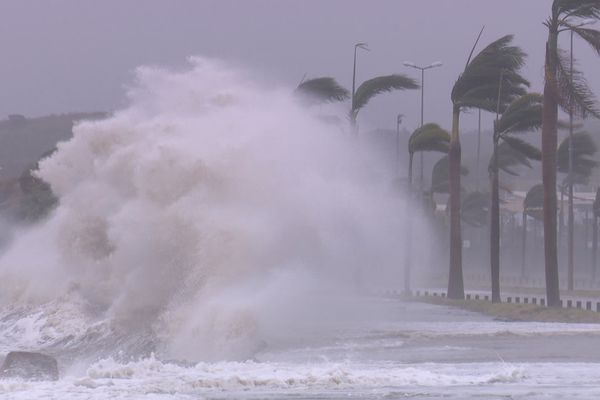 après le passage du cyclone Niran