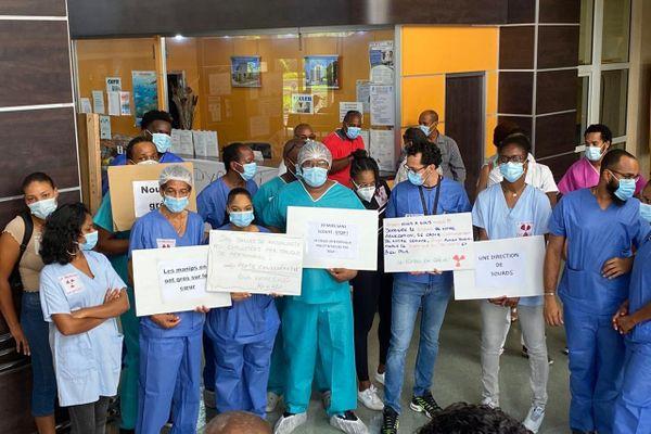 Grève des agents du service radiologie du CHUG