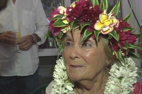 Hommage à la mémoire vivante de Polynésie 1ère, Michèle De Chazeaux