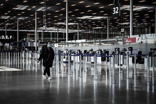 Aéroport d'Orly le 30 mars 2020