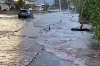 Une montée des eaux inquiétante à Mayotte