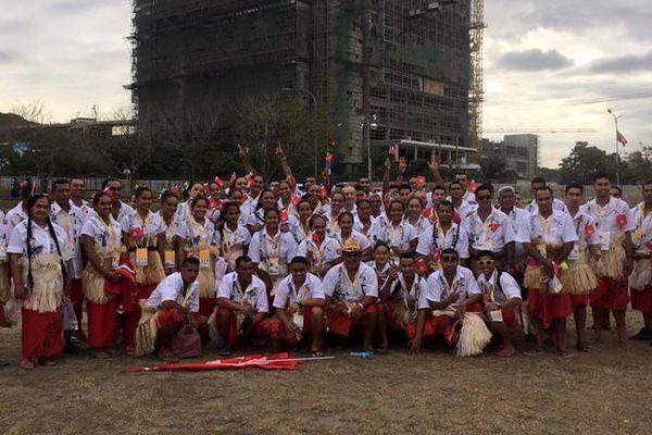 Wallis et Futuna aux Jeux du Pacifique