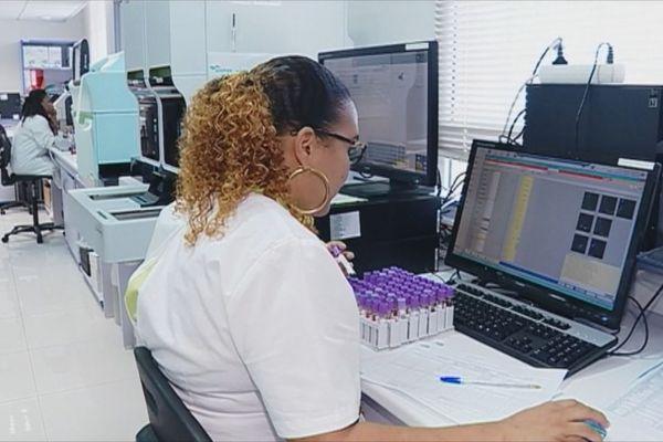 Travail en laboratoire