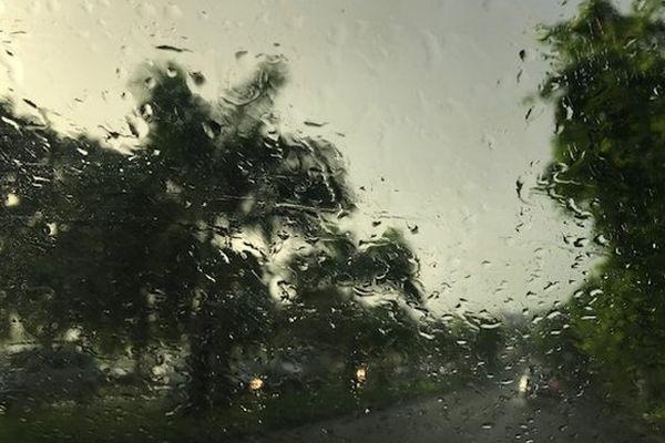 Pluie sur le Nord et l'Est juin 2017