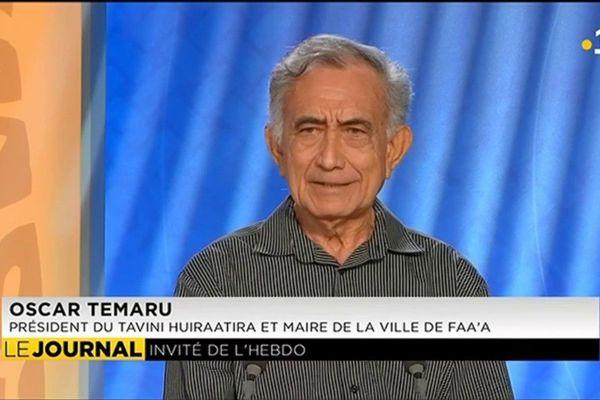 Oscar Temaru « Nous présenterons un candidat à la présidence du pays »