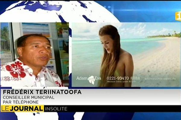 4e saison pour la téléréalité naturiste Adam et Eve à Tikehau