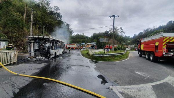 Incendie de bus à Bouliqui 07/04/2021
