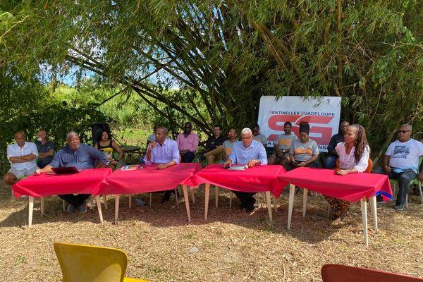 Déclaration de candidature régionales Sentinelles Guadeloupe