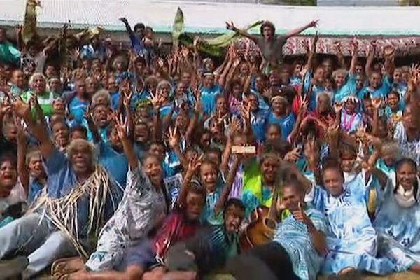 Lifou : réveillon du Nouvel An à la tribu