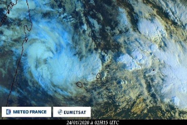 Dépression tropicale n6 240120