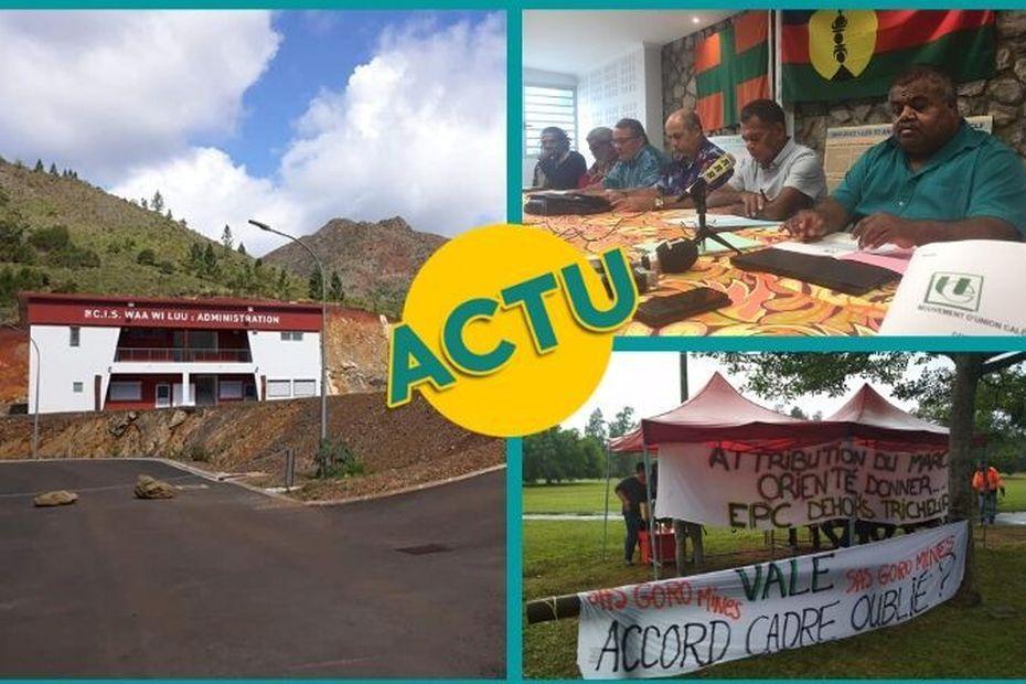 Usine du Sud, Union Calédonienne, Houaïlou et CTOS : l'actu à la 1 du vendredi 5 juin 2020 - Nouvelle-Calédonie la 1ère