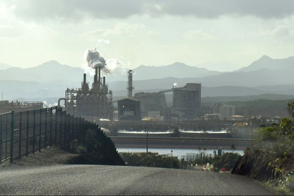 L'usine du Sud, Vale NC, début 2020.