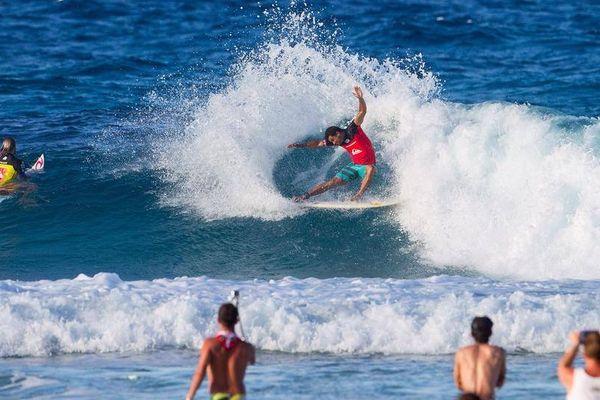 Michel Bourez Quiksilver Pro Gold Coast 2014 Round 1