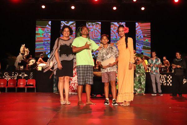 Meilleur danseur «Ori Tane»:Stellio Teura, du collège de Faaroa de Raiatea