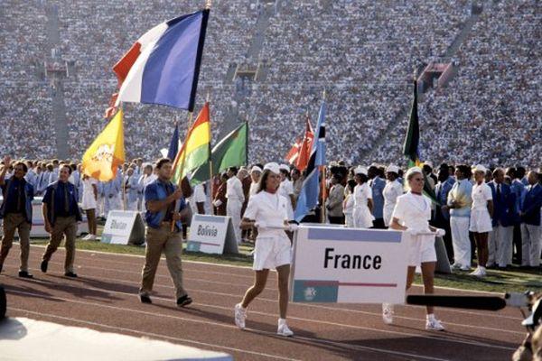 1984 - Cérémonie d'ouverture des Jeux Olympiques de Los Angeles