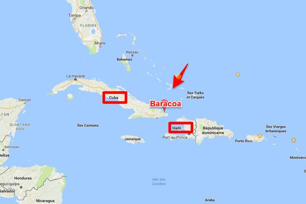 Carte de Baracoa