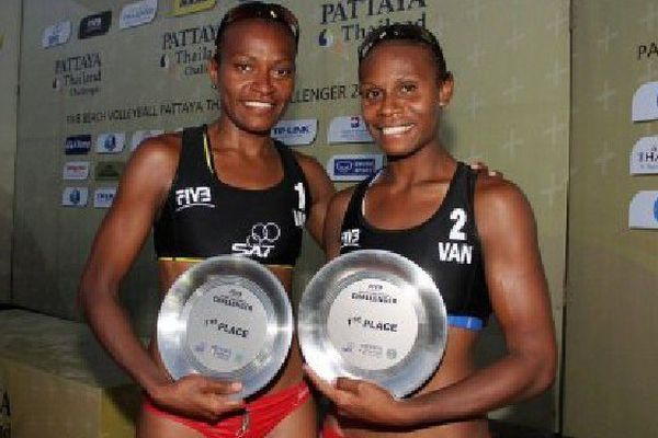 Miller Pata et Linline Matauatu, les deux beach-volleyeuses vanuataises, ont raté de peu leur billet pour Rio. Elles espéraient l'élimination du duo italien, pour dopage, mais la cour d'arbitrage du sport en a décidé autrement.