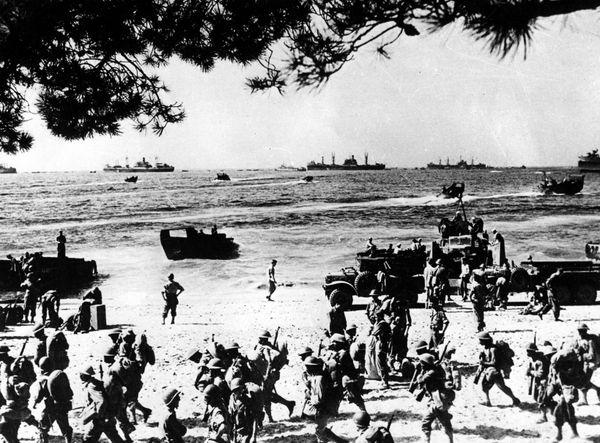Le débarquement en Provence en août 1944