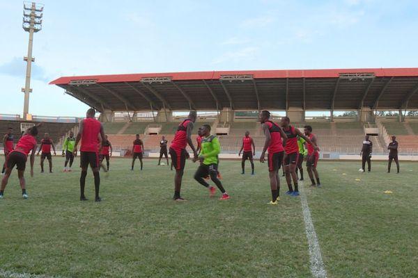 Trinidad à l'entraînement