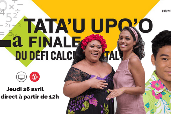 Tata'u Upo'o : la finale du défi calcul mental en direct dans Fare Ma'ohi