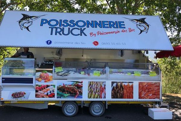 La Poissonnerie Truck à Saint-Denis