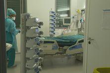 Chambre d'hôpital de l'hôpital Pierre Zobda Quitman.