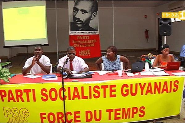 Parti socialiste en convention le 5 octobre 2013 à Sinnamary