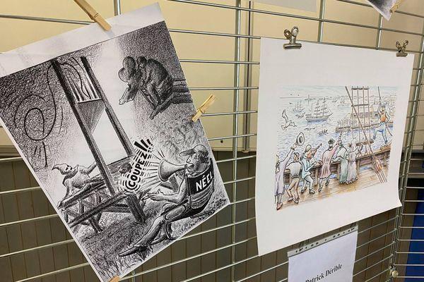 Ouvrages et dessins de Patrick Derrible