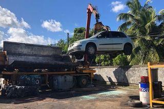destruction carcasses voitures