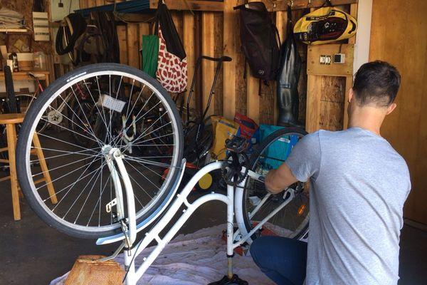 Auto-réparation vélo
