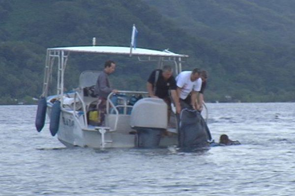 Tahaa : le corps du pêcheur sous-marin récupéré ce matin