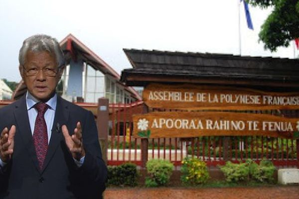 Voeux 2019 du président de l'Assemblée de la Polynésie française, Gaston Tong Sang (en français)