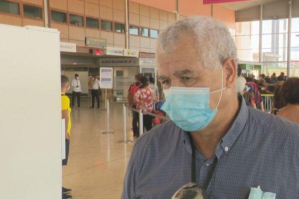Olivier Taoumi, directeur de l'aéroport Félix Eboué