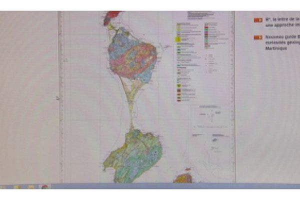 Enfin une carte géologique pour représenter l'archipel de Saint-Pierre et Miquelon