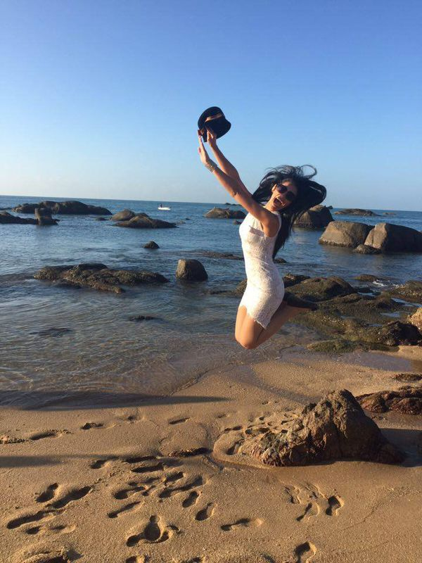Hinarere Miss World - J7 - Heureuse de retrouver la mer