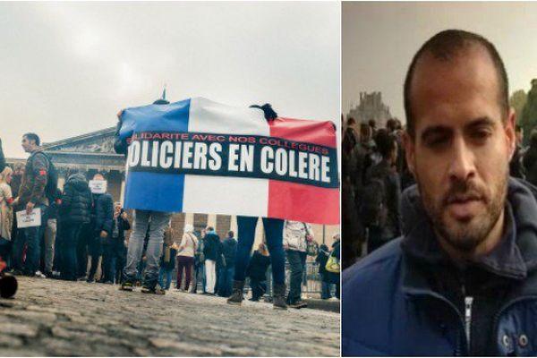 Guillaume, un Réunionnais, porte-parole de la colère des policiers convoqué devant l'IGPN