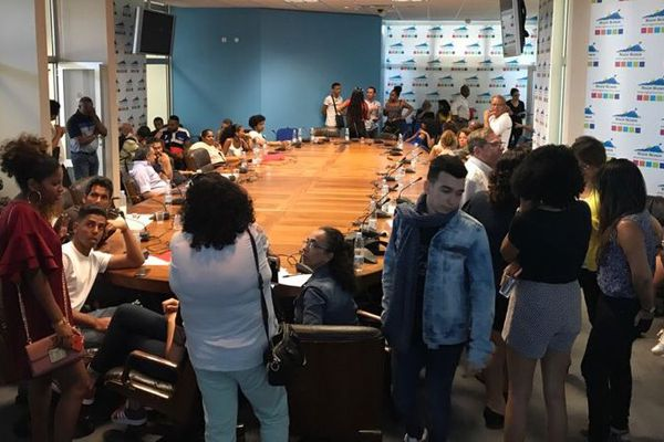 Nouveau Sit-in des étudiants en carrières sanitaires et sociales à la Région