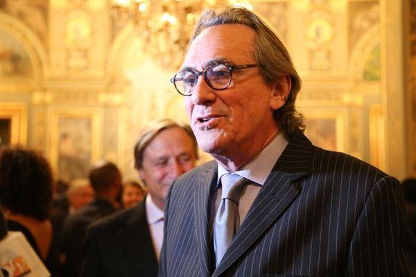 Le chanteur martiniquais Philippe Lavil