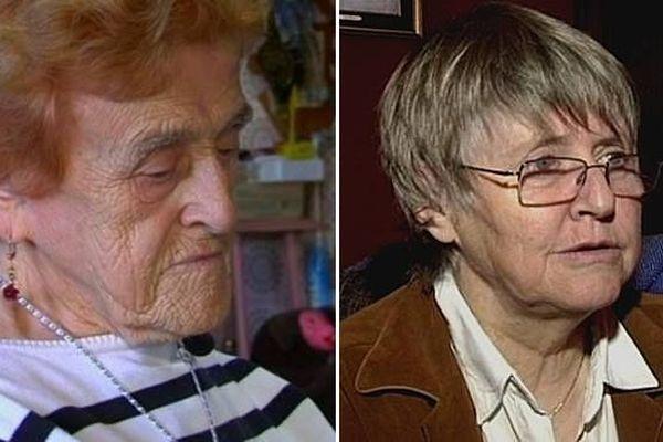 Augusta Lehuenen et Andrée Lebailly