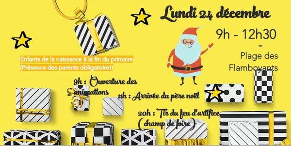 Annonce de Noël à Koumac