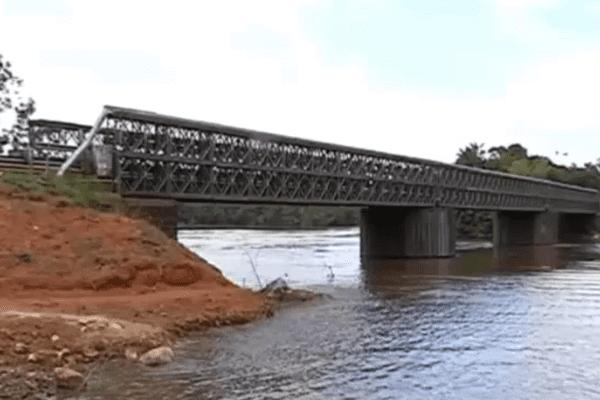 Le pont belay de la Comté