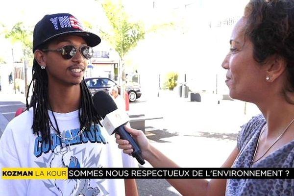 """Kozman la kour : """" Sommes-nous respectueux de l'environnement à La Réunion ? """""""