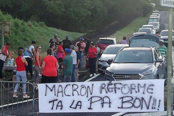 Grève éducation nationale Trois ilets