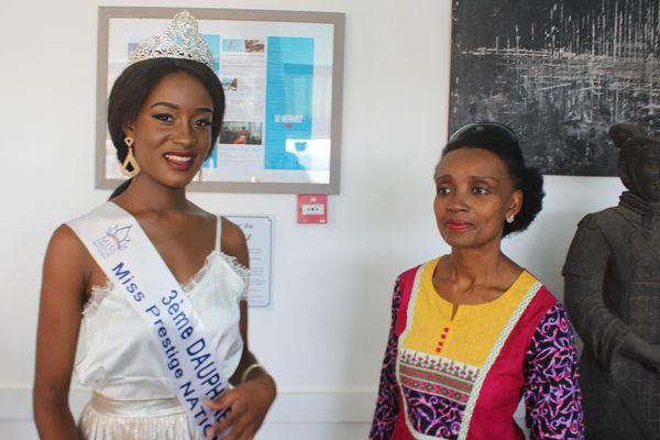 Miss Prestige Aecha Kamar et Nemati Toumbou-Dani