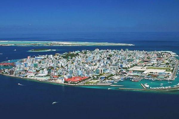 Malé capitale des Maldives