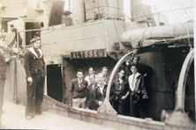Escale de l'Alysse en juillet 1941 à Saint John's - Départ des derniers évadés de St-Pierre partis rejoindre les forces Françaises libres en Angleterre