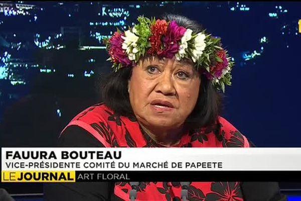 120 fleuristes au marché de Papeete pour la Toussaint