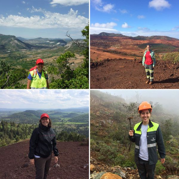 Jeune ingénieur géologue, Marion a notamment effectué tous ses stages en Nouvelle-Calédonie