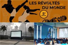 """Images du festival """"les révoltés du monde"""" (illustration)"""